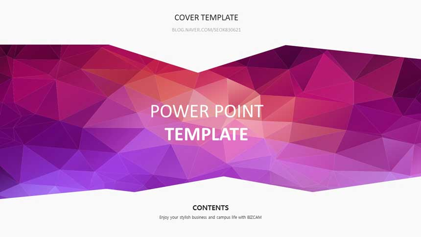 Polygon free powerpoint ppt template 120